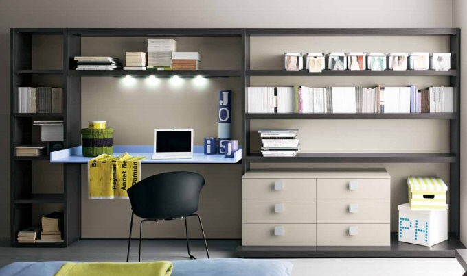 kids writing desk with shelf (unisex) #36 Blog by Bastistella