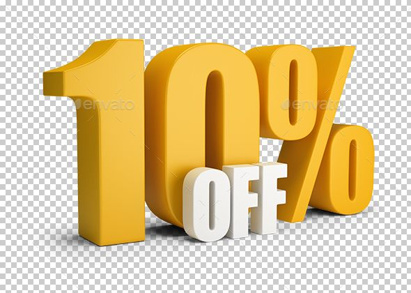 10 Percent Off 10 Things Graphic Design Templates Design Template