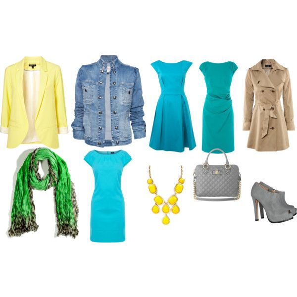 """Clear spring"" by vata-vata on Polyvore"