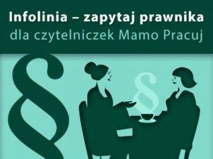 Bezpłatna infolinia prawna - zapytaj prawnika wspólnie z Kancelarią Frączyk i Partnerzy  Dyżury w każdą środę od 13 do 15.