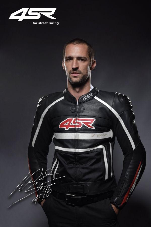 4SR jacket TT Replica - Black & BSB rider Jakub Smrz
