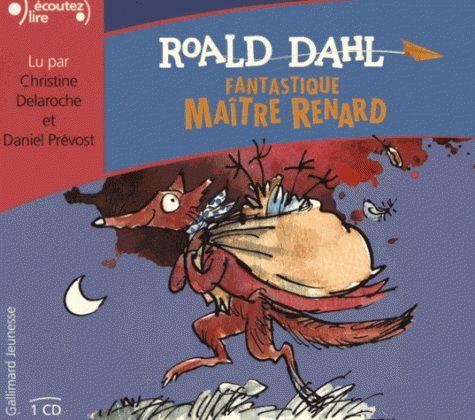 Fantastique Maitre Renard N. éd. (CD) - ROALD DAHL