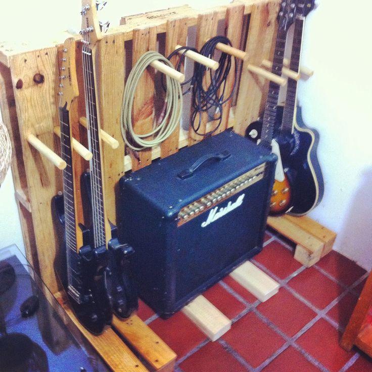 Stand para guitarras DIY
