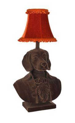 16 best lamp for jon images on pinterest table lamps buffet abigail ahernedition brown flocked beagle lamp debenhams aloadofball Choice Image