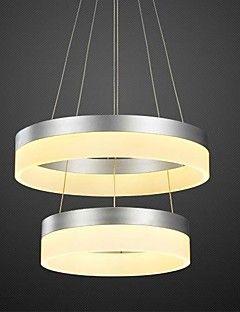 300mm 400mm Modern LED Pendant Light Acrylic Aluminum