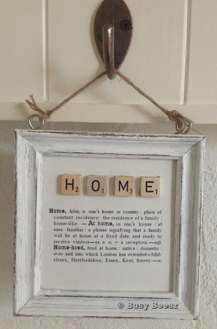 home...or love, family, friends etc, etc, etc...