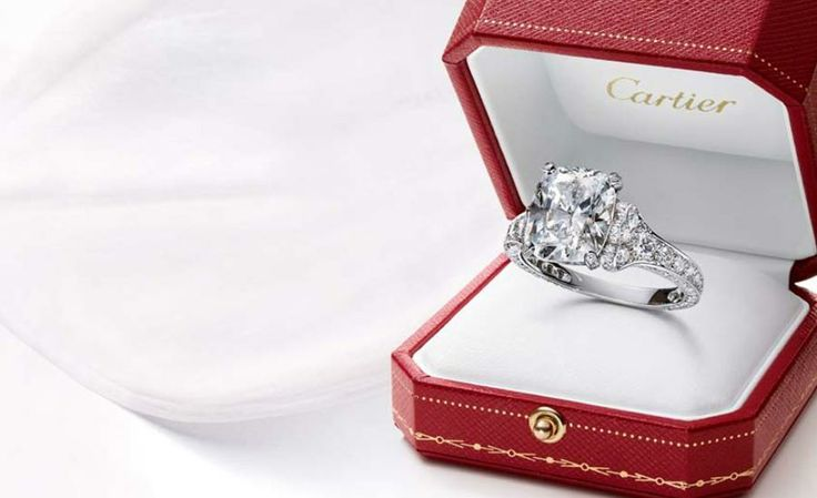 Engagement Ring Box With Ring 59