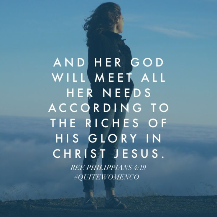 "Through Jesus, She Is: Provided For Day 24 Daily Verse: ""And my God will meet all your needs according to the riches of his glory in Christ Jesus."" —Philippians 4:19 (NIV) Daily Devo: When the Apostle..."