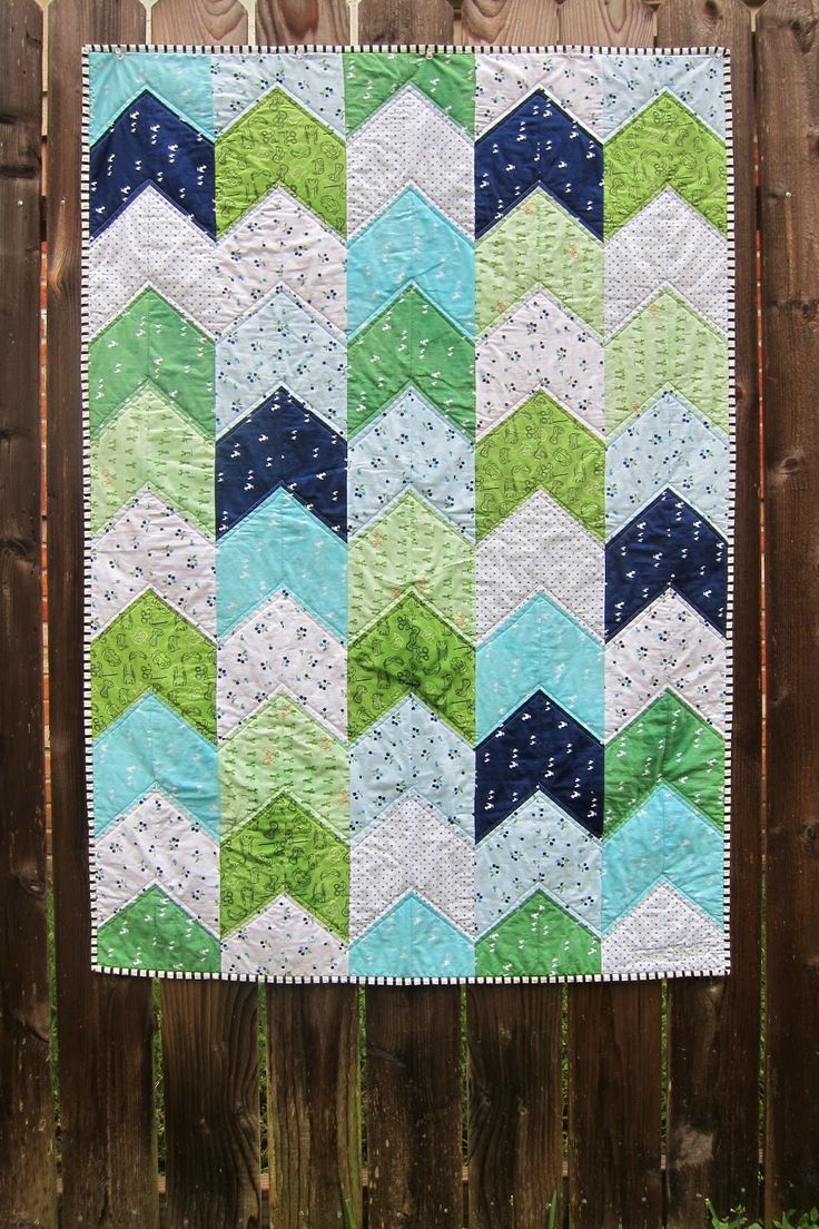 a maiden hair fern: arrow tail boy quilt