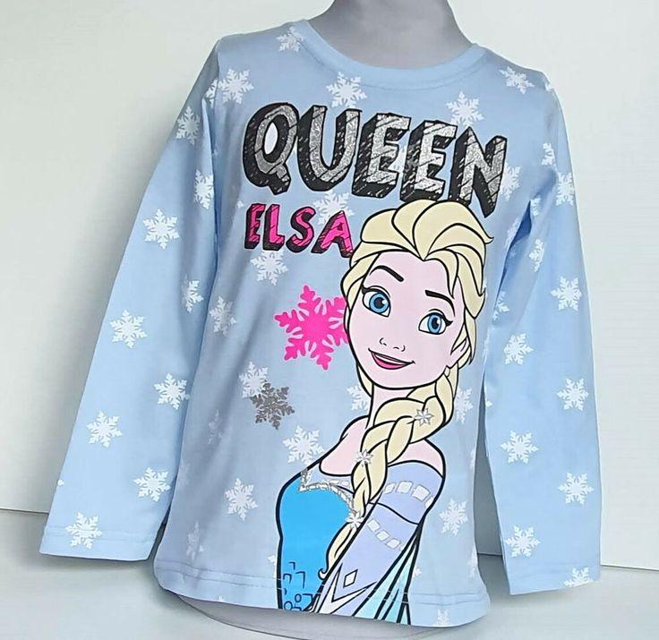 Disney Frozen II Elsa/& Anna Langarm Shirt Mädchen 110//116 OVP Kita Geschenk❤️NEU