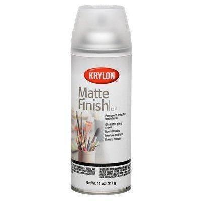 Krylon Aerosol Matte Satin Finish Spray Enamel 11oz, K01311007