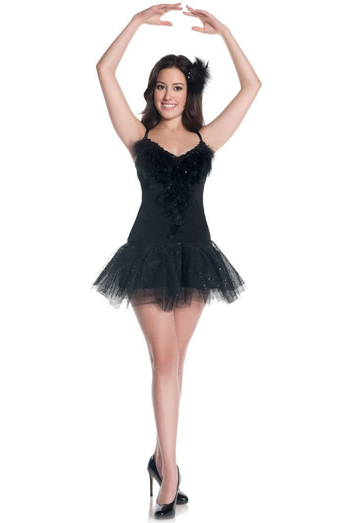 Costumes made with black dress