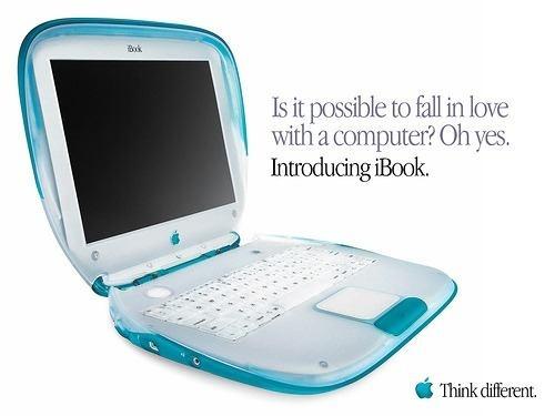 Laptop Ibook Apple Clamshell Almeja Blueberry