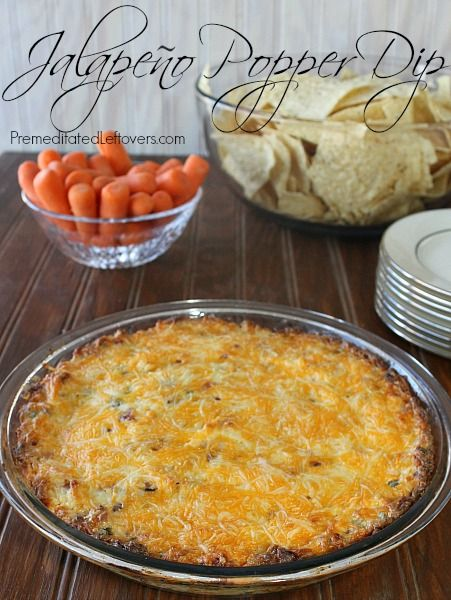 Jalapeno Popper Dip - A Little Help for the Holidays from Kraft