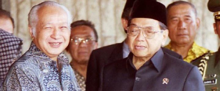 Soeharto dan Gus Dur