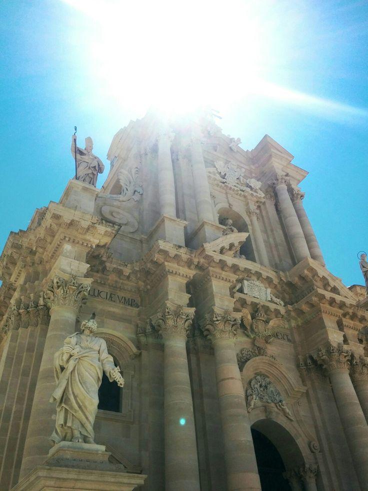 Duomo. E sole.  07.2016 #Siracusa #Sicily #Italy