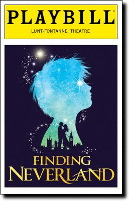 Finding Neverland, a 2015 Broadway Musical, winner of Audience Choice Award Favorite New Musical and Favorite Leading Actor in a Musical, Matthew Morrison.