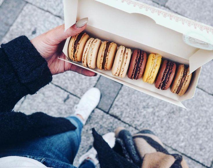 Macarons from Laduree in Paris >> @kirstyeelizabeth