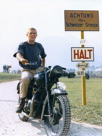 McQueen. The Great Escape