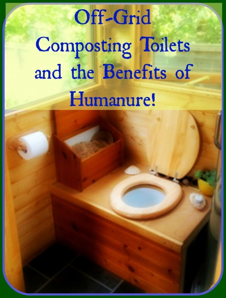 So you want to go off the grid but you don't know what to do with your waste.  The answer is Off-Grid Composting Toilets!  The result is Humanure.  Humanure takes waste and makes precious fertilizer!