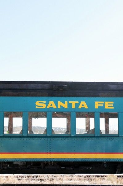 Take the train to Santa Fe. #splendidsummer