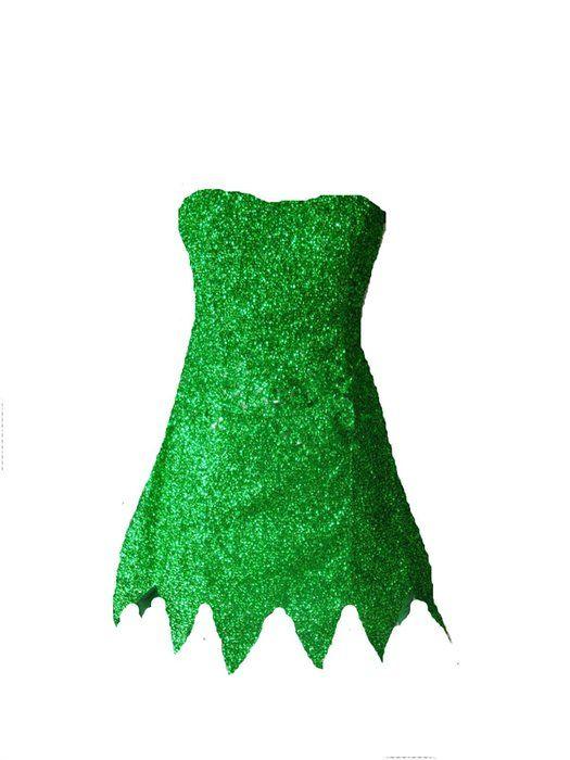Ladream Disney Tinker Bell Dress Costume Cosplay (Women Customize)