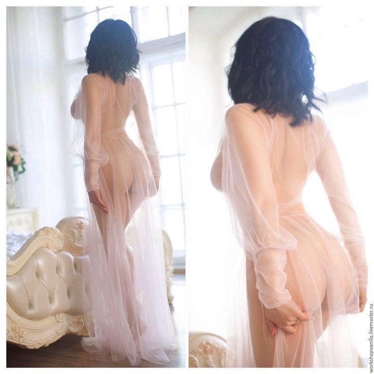 "Купить Будуарное платье ""Утро невесты"". - будуар, будуарное платье, прозрачное платье, утро невесты"