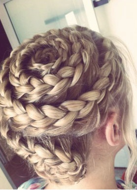 Twirl French Braid.