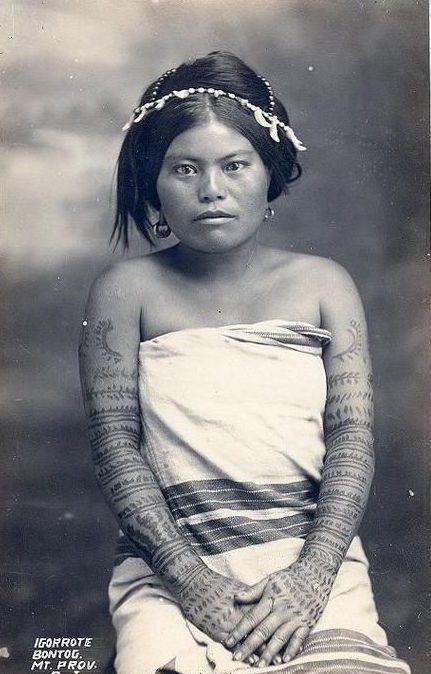 Philippines Bontoc woman