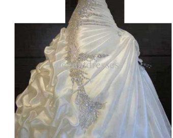 Tüll Hochzeitskleid schulterfrei Spitze mit von FrenchKnotCouture
