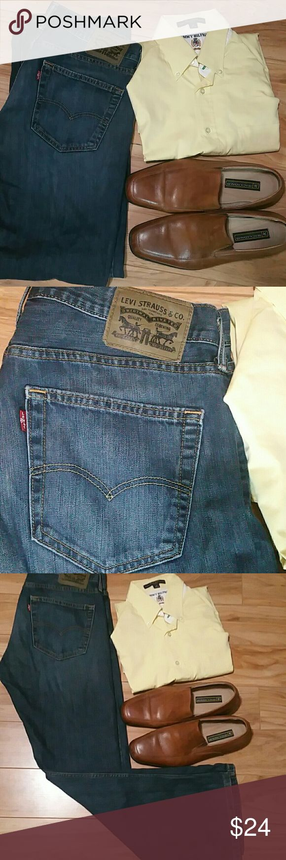 Levis 527 Bootcut  size 34 x 30 Levi's 527 slim boot cut jeans have a lower rise, are slim in the seat and thigh, and boast a boot cut from knee to ankle. NWOT Levi's Jeans Bootcut