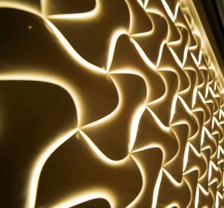 Die besten 25+ Pvc wand paneele designs Ideen auf Pinterest - futuristische buro einrichtung mit metall 3d wandpaneelen