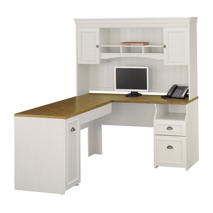 beige top and small shelf above hutch plus half round brass handles for easy reach with also furniture white l shaped desk for excellent home office admirable home office desk