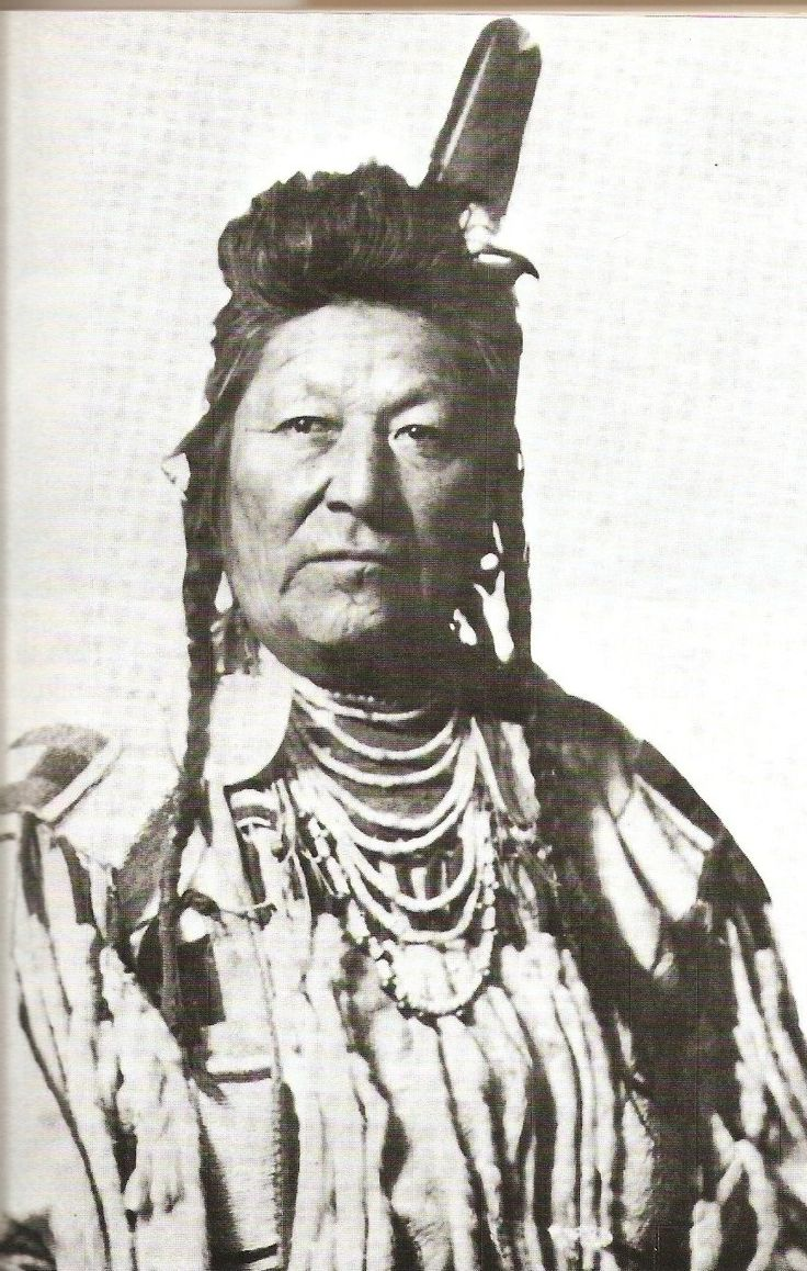Chief Plenty Coups From the Montana Historical Society