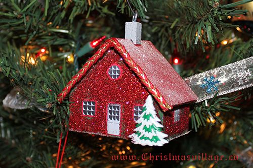 Glitter House from ChristmasVillage.co
