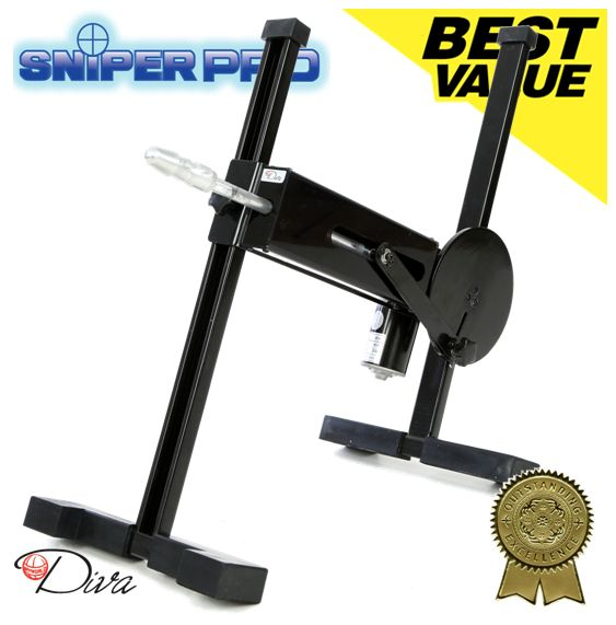 We love the Sniper Pro Sex Machine and feel it is the best sex machine Diva have ever produced.