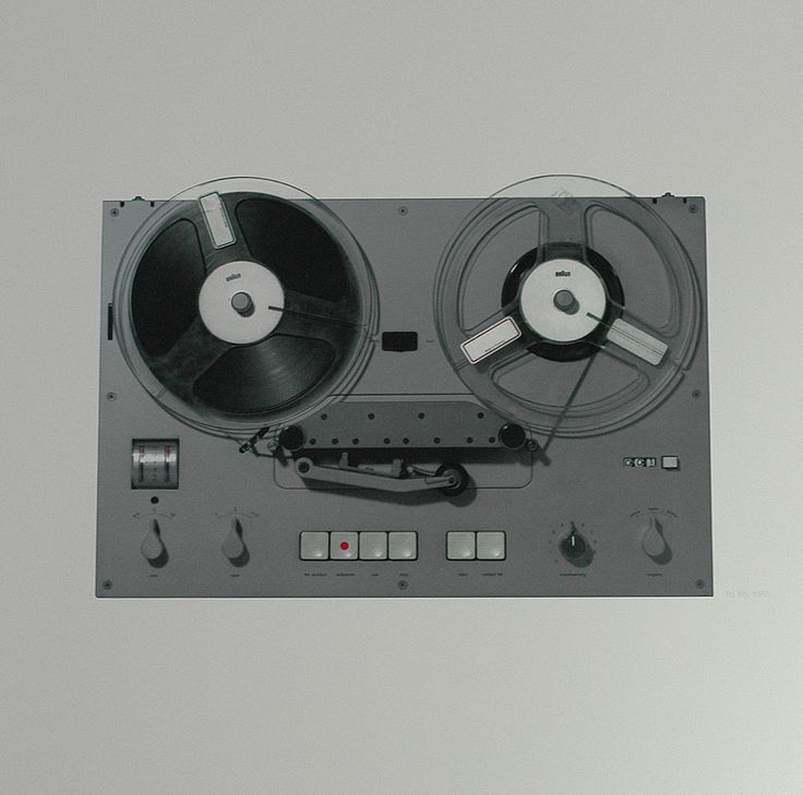 Braun TG 60 Reel-to-reel tape recorder by Dieter Rams (1965) | Lithograph from collector's folio 'Braun: The Last Edition', 1990 (348 USD / 225 GBP)