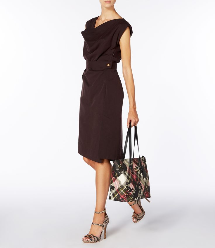 Brown New Case Dress