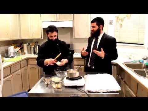 The Rabbi & Chef - no bake cookies - YouTube