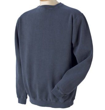 Authentic Pigment 11 oz. Pigment-Dyed Fleece Crew - NAVY - L Authentic Pigment. $21.38