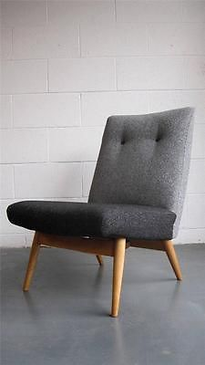 Stunning 60's Parker Knoll lounge chair (Teak-Danish-Heals-G-Plan-Vintage) Like the fabric
