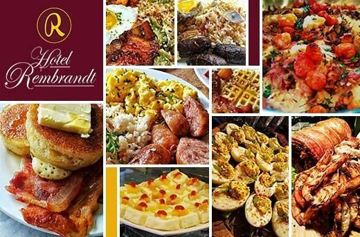 Eat-All-You-Can Breakfast, Lunch, Merienda, or Dinner Buffet at The Lobby by Hotel Rembrandt Quezon City for P199 instead of P269! Get it now at www.MetroDeal.com!