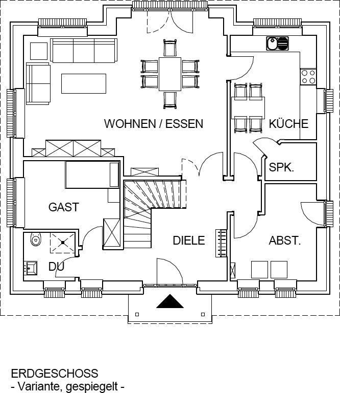 Massivhaus Landhaus Mit 165 Qm Wohnfläche Massiv Bauen In Hamburg Stade  Cuxhaven, Winsen # Mittelstädt Seit 40 Jahren Bauunternehmen Für Hausbau In  Hamburg, ...