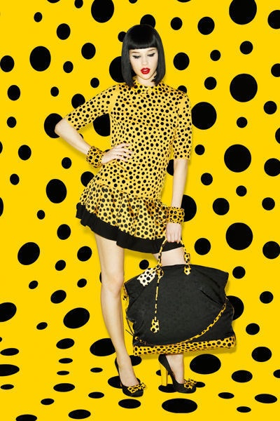 Yayoi kusama collection for Louis Vuitton, available on 10th july !