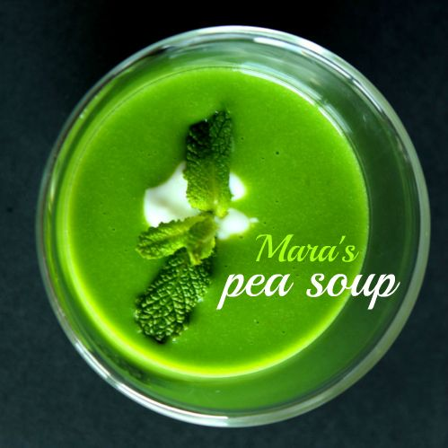 Thermomix recipe pea soup from frozen peas