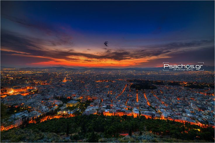 Athens  ( City View - Lycabettus Hill )