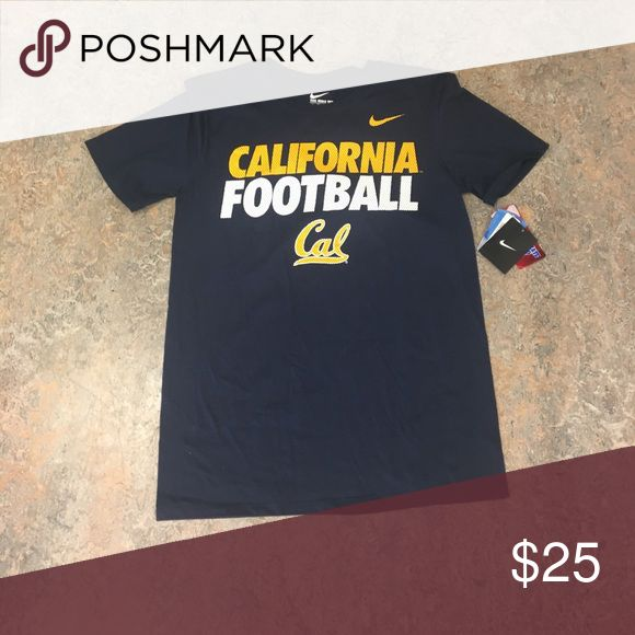 California Bears Football Nike Men's Shirt Small Brand new with tags officially licensed Cal Bears football Nike men's shirt size small. Nike Shirts Tees - Short Sleeve