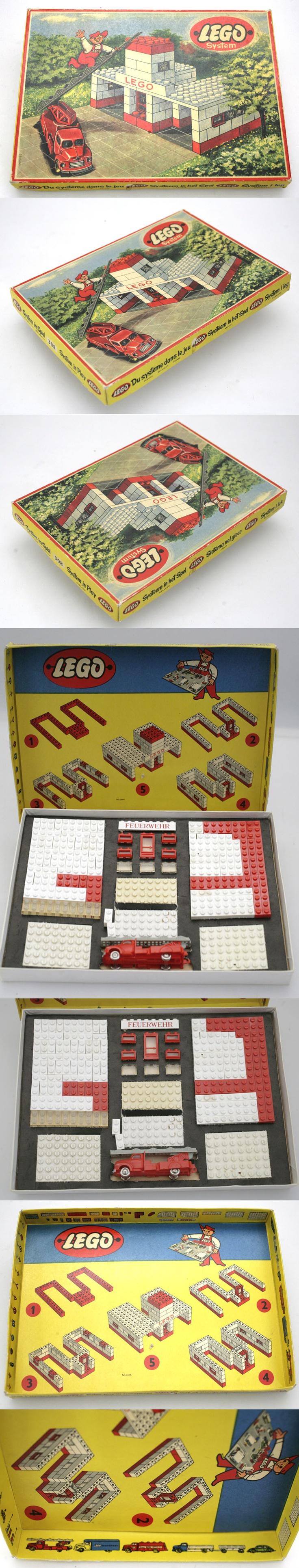 1950's LEGO SET 308 NOW ONLINE FOR SALE AT EBAY.DE