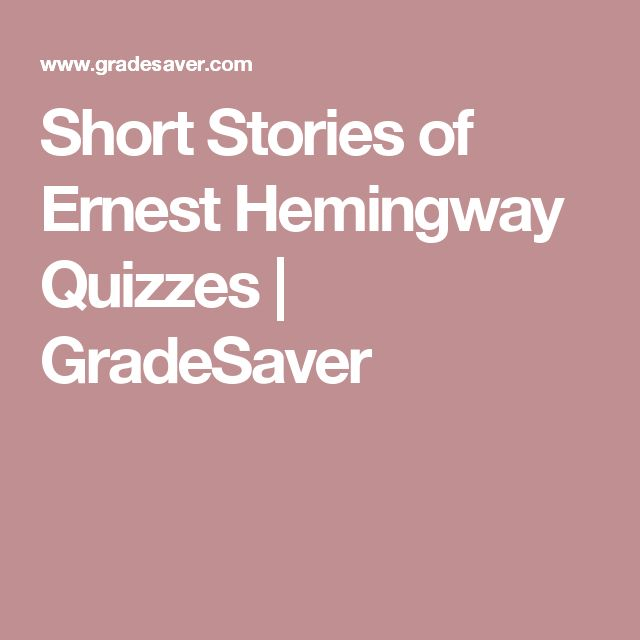hemingway essays View and download ernest hemingway essays examples also discover topics, titles, outlines, thesis statements, and conclusions for.