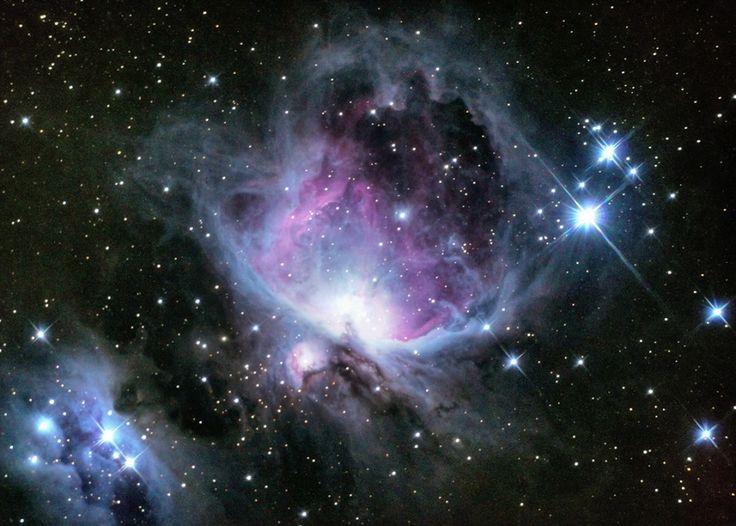 M42, la Nebulosa de Orión, enviada por Vicente Baeza desde María Pinto